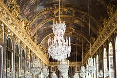 Versailles (Yriaka) Tags: versailles paris castle château lustres lights nikon gallery mirrors miroirs glaces gallerie