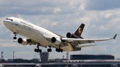 N286UP (paw-mor) Tags: ups md11 mcdonneldouglas waw epwa warsaw okecie airport aircraft jet trijet aviation 5x cargo n286up
