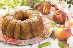 Bizcocho de melocotón (Frabisa) Tags: bizcocho melocotón casero merienda desayuno receta biscuit peach home snack breakfast recipe