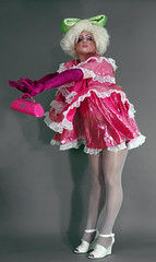 Pansy 8 (queerina) Tags: queer dragqueen fag fairy frock effeminate poofter effeminacy poof flamer sissy crossdresser crossdressing mincing mincer pansy camp heavymakeup limpwristed