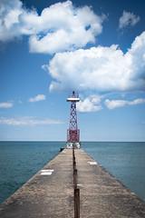 Pier 2 (CarusoPhoto) Tags: john caruso carusophoto chicago lake front sky cloud clouds pentax ks2