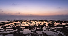 Akko Sunset (JoshyWindsor) Tags: akko rockpools ocean sunset travel canonef1740mmf4l coastal reflections waterfront israel canoneos6d landscape holiday dusk