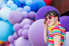 Colorful Balloons 2 (Demegree) Tags: nikond500 nikon people color colorful portrait balloons