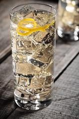 Gin, Tonic, Etc. (djwtwo) Tags: eastfreetown massachusetts unitedstates us cocktail highball gin elderflower limoncello tonic strobist