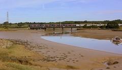 Low Tide and still Water at Cattawade (Chris Baines) Tags: ga 321 emu essex suffolk border ipswich london liverpool st service cattawade bridge