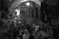 Lost in China (David Mor) Tags: ramadan eidalfitr jerusalem alquds oldcity night market sigmadp2quattro foeven nurlix blackwhite bw