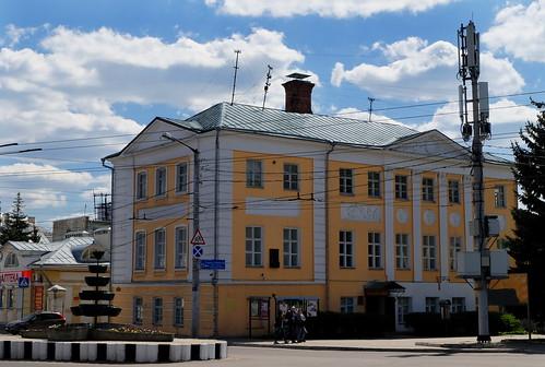 Дом, где жил имам Шамиль. Калуга, Россия