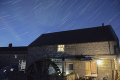 The Old Watermill, Rothbury, Nothumberland. Explored ! (John5199) Tags: d7100 nikond7100 nikon1685afs theoldmillrothbury watermill stars startrails night explored