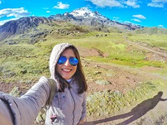 Happy selfie (pattyesqga) Tags: trekking travel trip mountains gopro female wanderlust backpacker travelblogger viajera mochilera nevado snow pucacocha rajuntay highlands nature perú southamerica naturaleza paisajes landscape adventure trekk hike hiking senderismo holidays weekend selfie happy