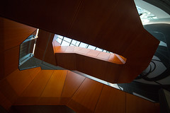 The Riddle (Keith Midson) Tags: newhorizons building architecture stairs staircase stairwell up monash university samyang 14mm