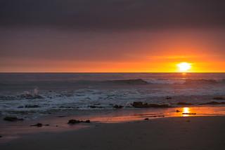 Sunset in Santa Barbara, CA