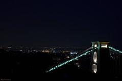 The Silent Night (HiJinKs Media...) Tags: night sky city lights bridge landscape cityscape bristol suspensionbridge