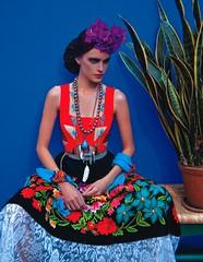 Moda Firda Kahlo 2 (Ileana Esparza) Tags: moda frida kahlo fridakahlo mexico colores estilo