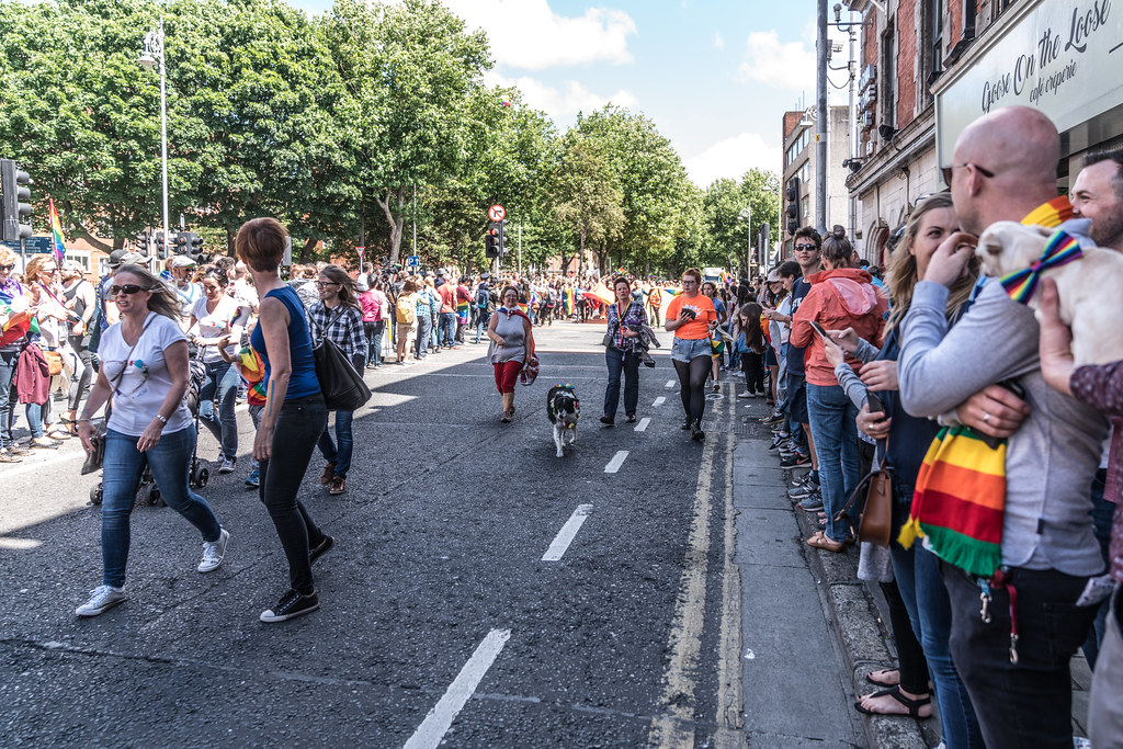 LGBTQ+ PRIDE PARADE 2017 [ON THE WAY FROM STEPHENS GREEN TO SMITHFIELD]-129973