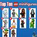 Top Ten Lego Minifigures