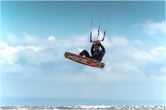 Kite Surfer (DHHphotos) Tags: kite surfer xride porthcawl rest bay bridgend glamorgan sea ocean beach sun nikon d7500