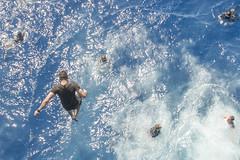 170623-N-AF077-199 (CNE CNA C6F) Tags: gwhb aircraftcarrier 5thfleet georgehwbush swimcall jump water morale ussgeorgehwbush na usa