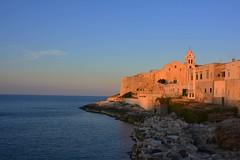 La chiesa sul mare al tramonto (giorgiorodano46) Tags: giugno2017 june 2017 giorgiorodano nikon vieste puglia gargano italy chiesa church sanfrancesco tramonto mare sunset sea colors glow twilight