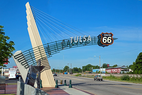 Tulsa Route 66 Sign