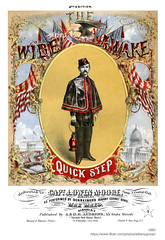 1860 wide awake quick step (albany group archive) Tags: albany ny history 1860 wide awake quick step schreibers cornet band max mayo andrews tweddle hall sheet music civil war old vintage photos picture photo photograph historic historical