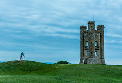 The Tower and I (Russell Discombe) Tags: broadway broadwaytower tower photographer camera nikon blue gree longexposure gloucestershire worcestershire nikond610 sigma24105 sigma landscape evening clouds