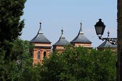 Tolède (hans pohl) Tags: espagne castillelamanche toledo arbres trees lampadaires lamps nature eglises churchs toits roofs