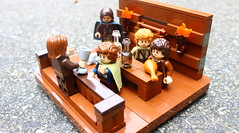 The Prancing Pony Inn (PeachBricks) Tags: lego lord rings the hobbit prancing pony inn vignette fellowship ring snot moc creation