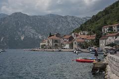 ponderings (=Mirjam=) Tags: nikond750 perast montenegro bayofkotor fjord water adriatic sea historictown shore houses roadtrip vacationing traveling juni 2017