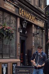 denims outside denholms (werewegian) Tags: denholms pub classic glasgow man denims werewegian jul17