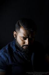 portrait (Dingo photography) Tags: nikon d5100 35mm18g nikkor studio portrait male man beard mustache