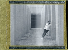 F. (denzzz) Tags: portrait polaroid polaroid52 expired blackwhite blackandwhite skancheli analogphotography filmphotography instantfilm wista45dx 4x5 fujinona 180mm hylasmag thepolavoid snapitseeit