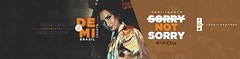 Demi Lovato - #SorryNotSorry (Danielle O. Nascimento) Tags: demi lovato header twitter fan site