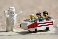 LEGO Matterhorn Bobsleds (Evan Ridpath) Tags: custom minifig creation mickeymouse fantasyland waltdisney legodisney legoland yeti abominablesnowman moc attraction bobsleds matterhorn disneyland lego disney legodisneyland