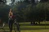 Tarde no Ibira (DuAugusto) Tags: park parque ibirapuera woman girl blondie bike bicycle bicicleta sun yellow golden people pessoas lago streetphotography streetphoto saopaulo brasil amateurphotography beauty citybeauty banco filter photofilter photoedit walking thirdrules regradosterços