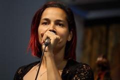 Rhiannon Giddens (2017) 02 (KM's Live Music shots) Tags: americana unitedstates rhiannongiddens neworleansjazzheritagefestival bluestent fairgroundsracecourseneworleans