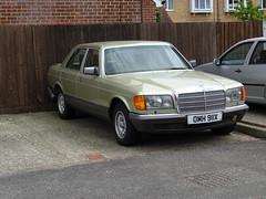 1982 Mercedes Benz 500 SE (Neil's classics) Tags: car vehicle mercedes benz 1982 500se w126
