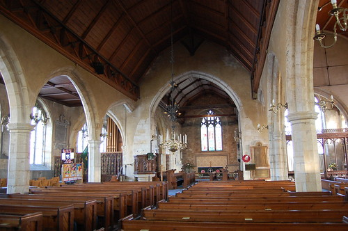 Goudhurst, St Mary's church interior