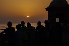Atardecer Cádiz (juangaran) Tags: sol atardecer playa cadiz andalucia españa