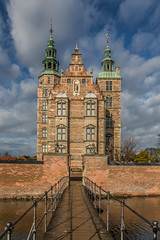 Rosenborg Castle (DC P) Tags: rosenborg castle copenhagen denmark danish building slot architecture old classic garden king kongens have the kings royal guards clouds cloud tree trees explore travel architects bertel lange hans van steenwinckel younger christian ivs city historical cph sight view panoramas panorama wideangle wide widely canon eos outdoor sky plant