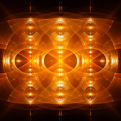 Heat Pulse (Luc H.) Tags: heat pulse abstract fractal graphic graphism digital yellow light