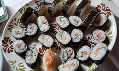 Home Made Maki (Been Around) Tags: maki sushi food fish essen meal steyrling tasty rice japanisch österreich gurke homemademaki plate cucumber gurken fisch freshfish smokedsalmon salmon