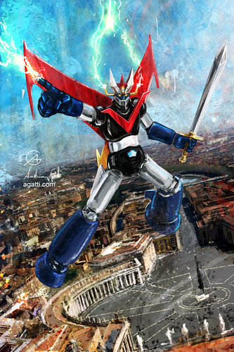 the great mazinger in rome