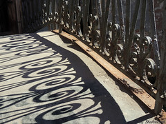 Shadow fence (Shahrazad26) Tags: fence hek barrière brug brücke pont bridge venetië venice venezia venedig italië italy italia italien shadow schatten ombre ombra schaduw