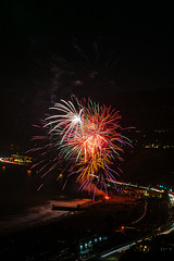 60 (morgan@morgangenser.com) Tags: pacificpalisaddes beach belairbayclub blue celebrate fireworks color iso100 july3rd loud nikon night ocean orange pch people red reflection special spectacular streaks timeexposire tripod yellow amazing