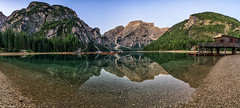 Lago di Braies (leoskar) Tags: reflectionslovers reflections landscapes waterscape lake mountains dolomites dolomiti südtyrol travel panorama italy nikon nikonpassion nikkor