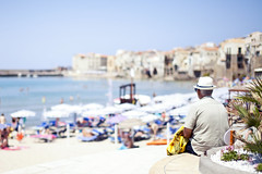 Admiring the view (frasse21) Tags: cefalù sicily italy europe travel 14 dof bokeh