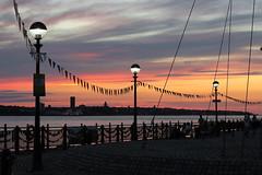 Liverpool (tweedy35) Tags: europe england merseyside liverpool waterfront sunset sky birkenhead wallasey rivermersey albertdock lamplight canong1x sundown