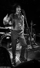 Jesse Malin II (peterphotographic) Tags: photo11072017214057sefexedwm apple iphone 6s ©peterhall camden dingwalls northlondon london england uk britain jessemalin singer band livemusic live gig concert stage nik silverefexpro2 blackandwhite bw monochrome musician