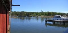 Spikens fiskeläge, Kållandsö, 2017 (biketommy999) Tags: spiken kållandsö västragötaland 2017 biketommy biketommy999 sverige sweden panorama sjö lake vänern bussresa