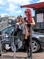 Judith the fairdresser (digitris) Tags: candid street fair hairdresser salon digitri digitris canon g7xmarkii canong7xmarkii hairsalon